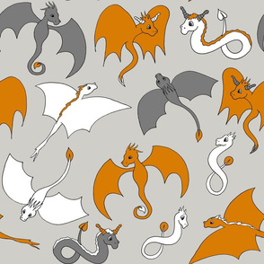Dragon Friends - Orange