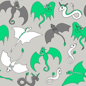 Dragon Friends - Green