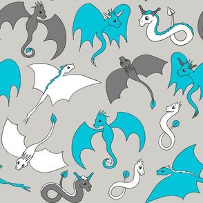 Dragon Friends - Blue