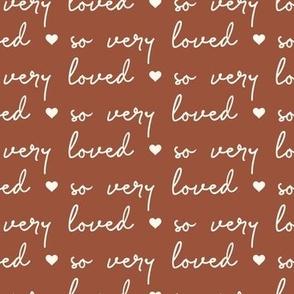 so very loved - rust  - LAD21