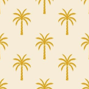 Palm Trees - Yellow
