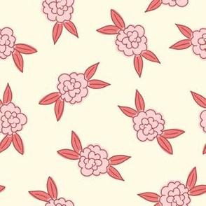 Simple Flowers - Pink