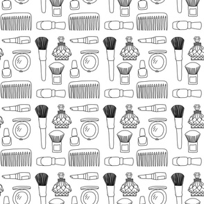 Beauty Tools (black and white)