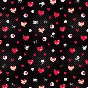 Rockabilly Broken Hearts - M