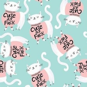 Cat Cute AF