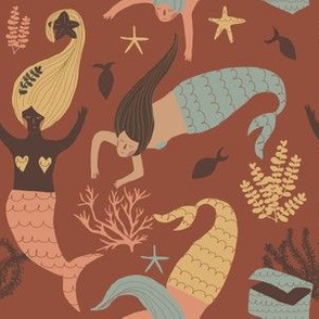 Mermaid boho