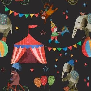 artist  circus black