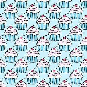Cupcake (blue)