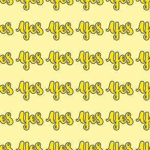 Yes (yellow)