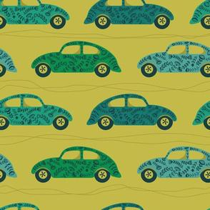 Motor Blooms - Green