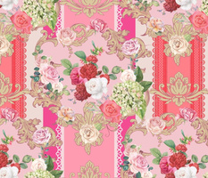 Pink Rococo Romance