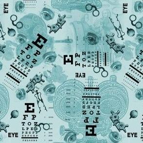 eye chart seafoam