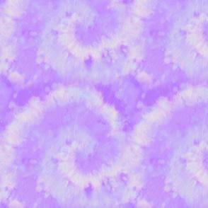 Batik style lavender swirl