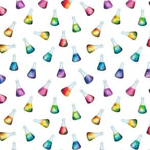 Rainbow Beaker Pattern