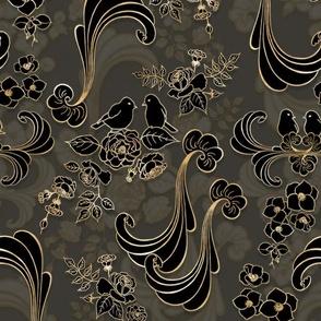 Rococo Dream  black