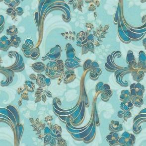 Rococo Dream aqua