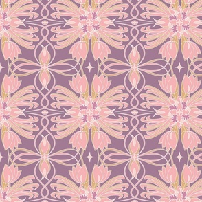 Rococo Plum Petals