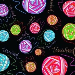 Unwind Neon Black