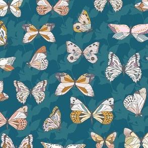 Eden Butterfly (blue) MED