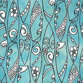 Sassy Surfboards-Blue