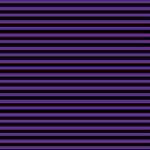 Halloween Stripes - Purple and black - extra small scale