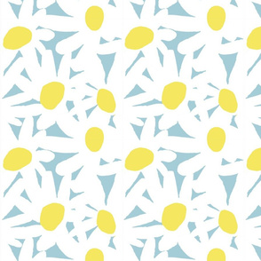 """JUST DAISIES 8"""" blue"""
