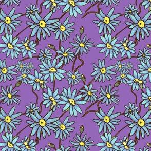 pattern tile purple