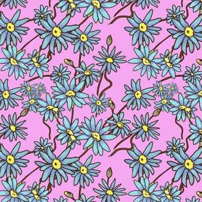 pattern tile pink
