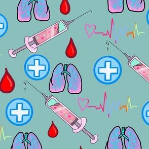 Kawaii Medical-teal