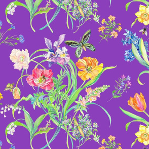 Welcome Spring-Purple