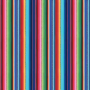 Mexican stripes - small
