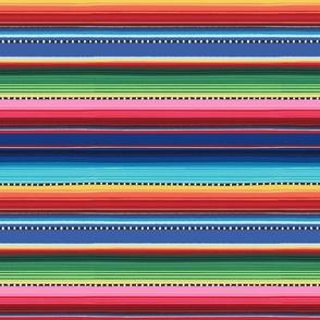 Mexican stripes - diagonal - medium