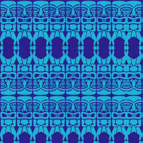 Surfs Up - Totem blue