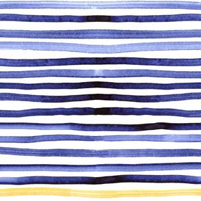 Mariniere blue and orange big