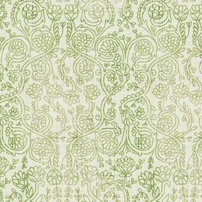 Spring Vines - Hand Drawn Rococo