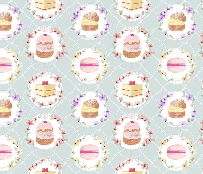 Rococo Desserts and Florals