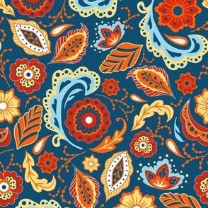 Azalea Vintage Floral - Fiestas