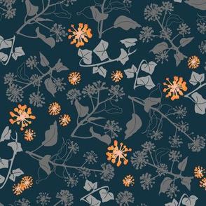 Ivy Design Blue Orange medium
