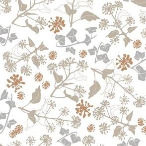 Ivy Design White Brown medium