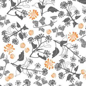 Ivy Design White Orange medium