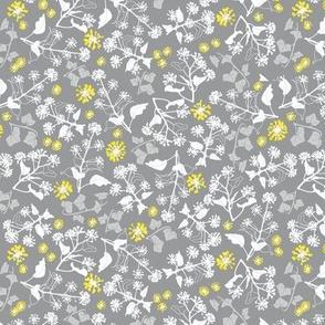 Ivy Design Yellow Grey small
