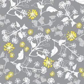Ivy Design Yellow Grey medium
