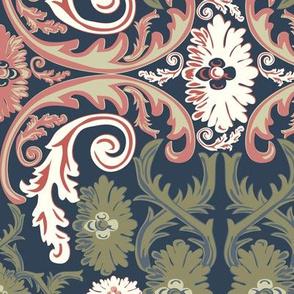 Rococo Ornamental Vintage Pattern-3