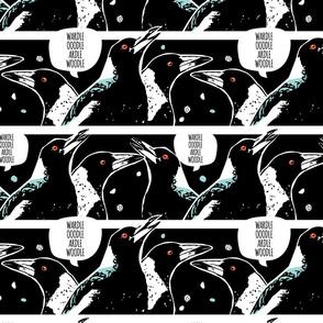 Magpie Talk mono medium