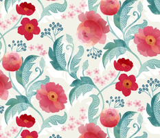 Dreamy Rococo roses