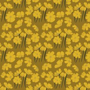 Sunflower Garden (sienna)