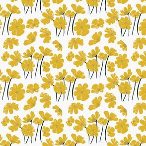 Sunflower Garden (white)