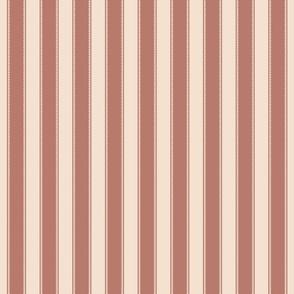 Stripe - Rococo - Extra Small - DarkRose, PaleRose