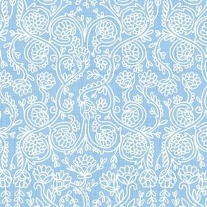 Batik Rococo Sky Blue