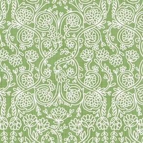 Batik Rococo Grass